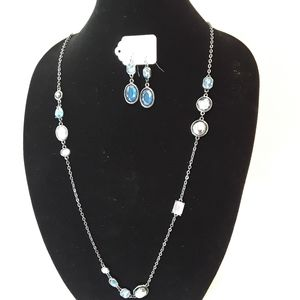 Chico's NWT Necklace and Earring Set